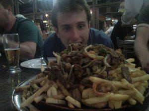 Mathias morto de fome...