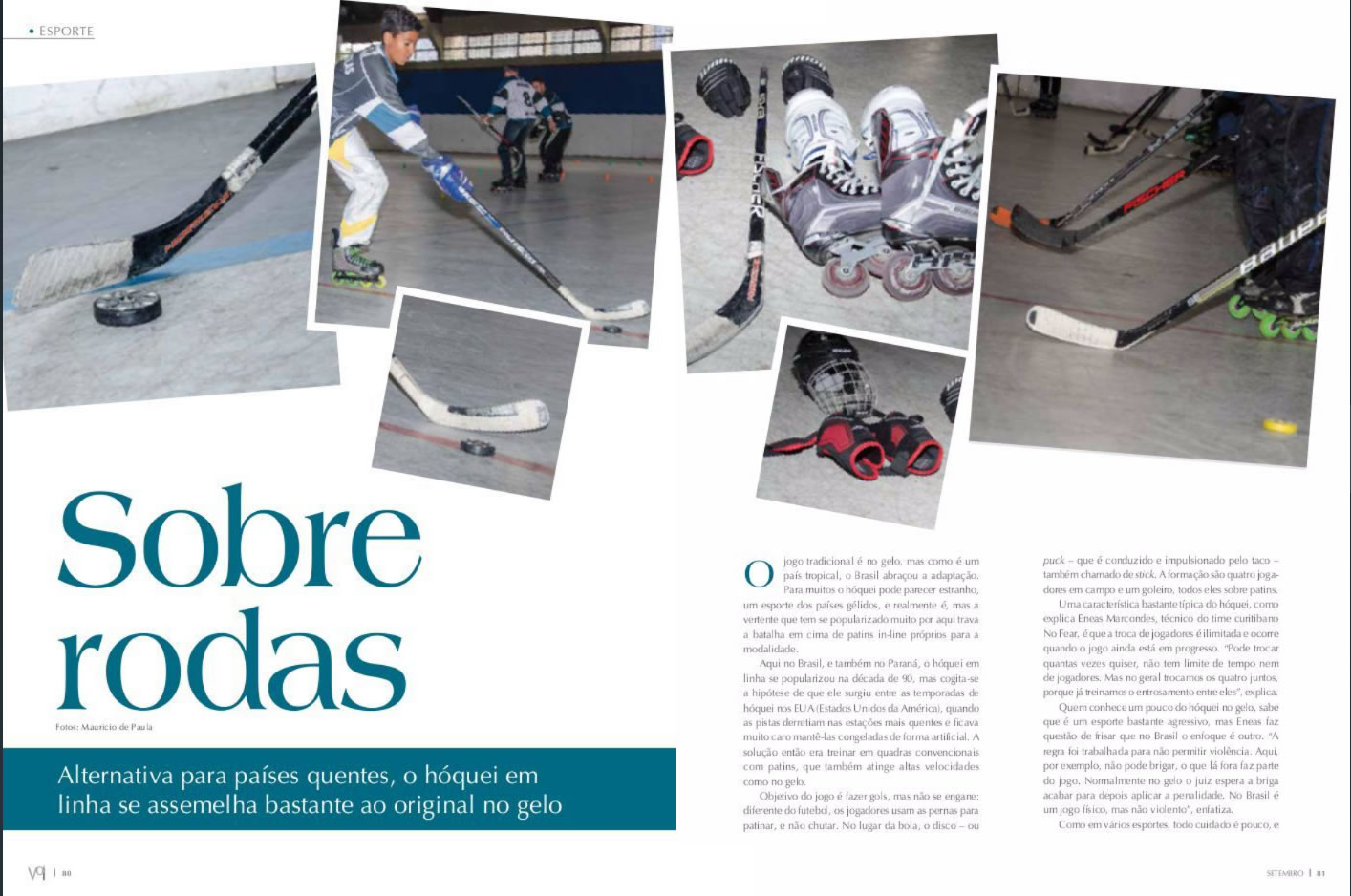Reportagem Revista VOI